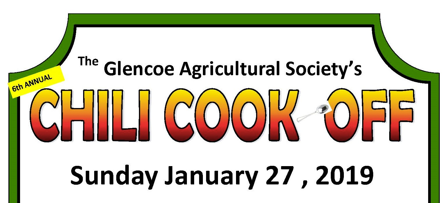 Chilli cook off 2019 poster CROPPED